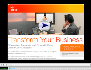 Transform your business Webinar2