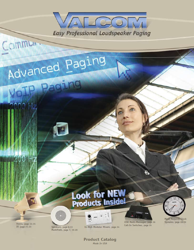 Overhead Paging System Provider Amp Custom Installation
