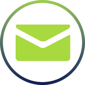 envelope icon indicating there is a voice mail message
