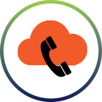 cloud and phone icon inside circle, indicating SIP Trunking
