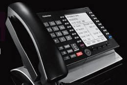 """""""Trade Up to Toshiba"""" programs allow legacy customers of Strata DK and Strata CTX to affordably obtain up-to-date voice solutions, and comply with pending Kari's Law."""