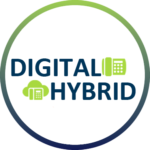 hybrid / digital phone system icon