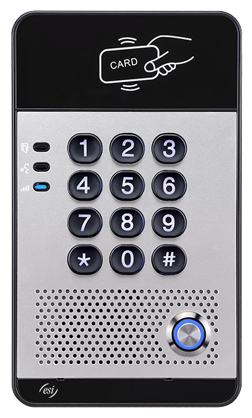 ESI business phone system door access reader for companies using ESI phone systems in Maryland, Washington DC, and Northern Virginia.