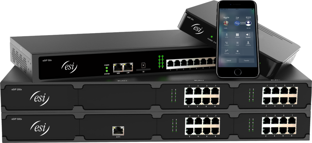 ESI eSIP Evolution Business Phone System server and mobile solutions for Maryland, Washington DC and Virginia businesses.