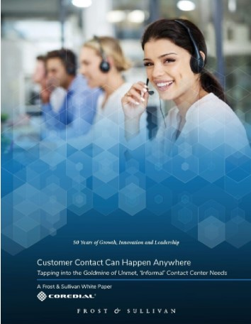 Frost & Sullivan White Paper: Customer Contact Can Happen Anyway