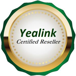 Yealink Phones Certified Reseller Badge