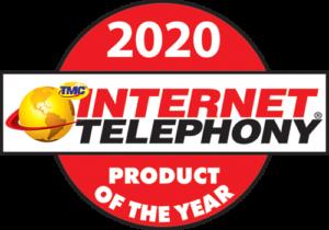 2020 INTERNET TELEPHONY Product of the Year Award