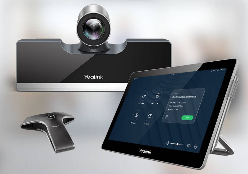 YEALINK VC500 Video Conferencing System for small or medium conference rooms. ACC Telecom is a certified Yealink Reseller and can install and support your Yealink video conferencing system.