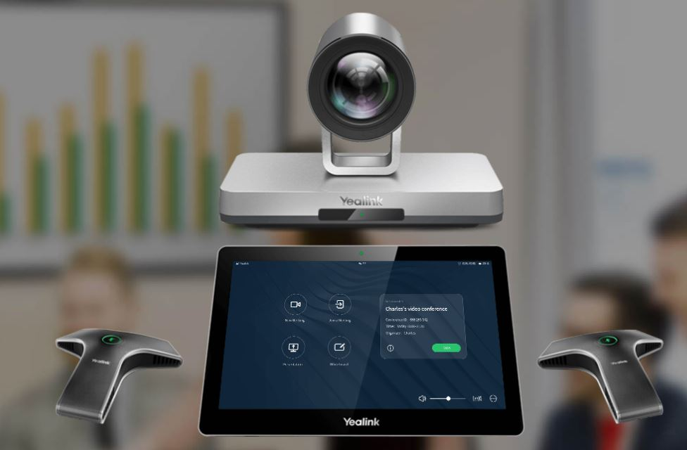 YEALINK VC800 Video Conferencing System for small or medium conference rooms. ACC Telecom is a certified Yealink Reseller and can install and support your Yealink video conferencing system.