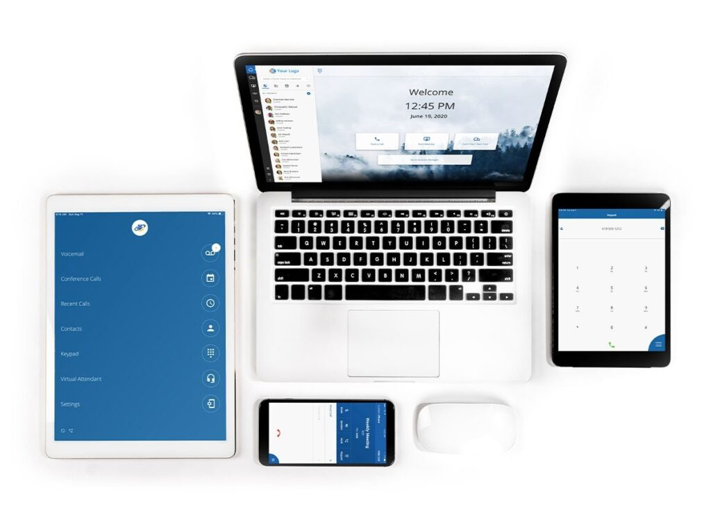 CoreNexa Cloud based phone system with mobile calling apps