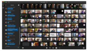 CoreNexa 7.0 Video Collaboration video tiles
